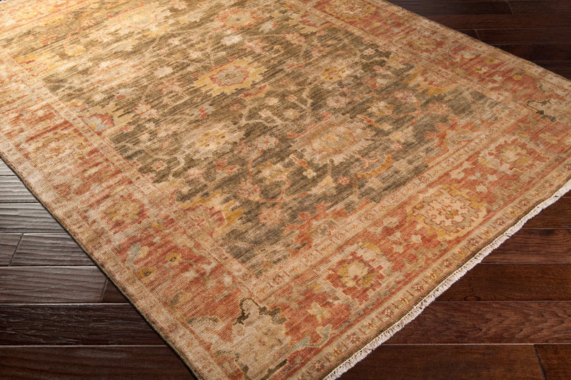 Hillcrest Area Rug 1-Indoor Area Rug-Surya-Wall2Wall Furnishings