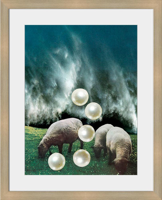 Pearls - Wall Art-Wall Art-Surya-Wall2Wall Furnishings