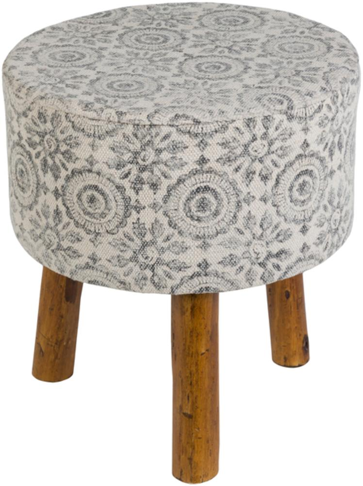 Indore Stool INDO002-Stool-Surya-Wall2Wall Furnishings