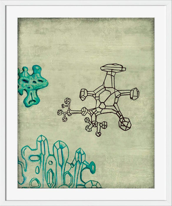 Key Composition - Wall Art-Wall Art-Surya-Wall2Wall Furnishings