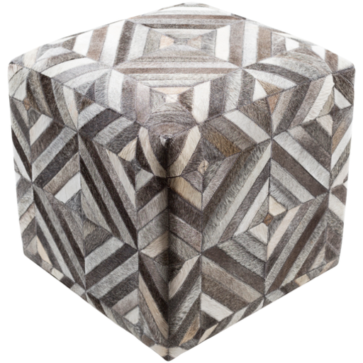 Lycaon Pouf 1-Pouf-Surya-Wall2Wall Furnishings