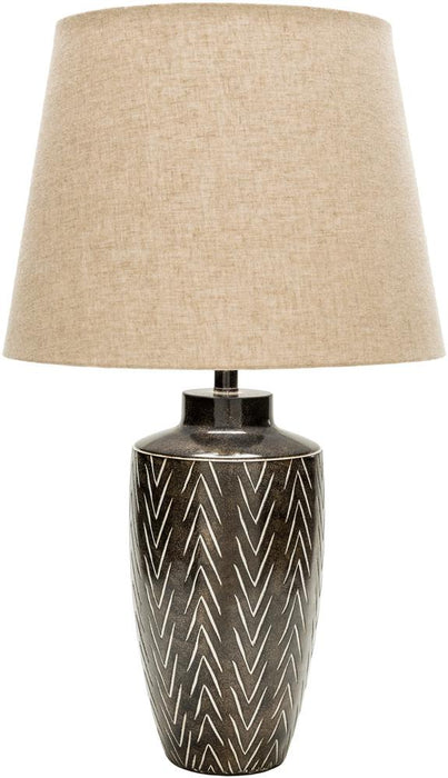 Leslie Table Lamp-Table Lamp-Surya-Wall2Wall Furnishings