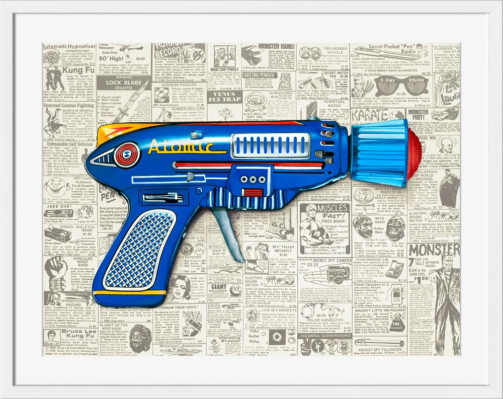 Ray Gun II - Wall Art-Wall Art-Surya-Wall2Wall Furnishings