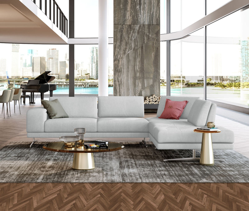 Coronelli Collezioni Mood - Contemporary RAF Chaise Sectional Sofa-Sectional Sofa-VIG-Wall2Wall Furnishings