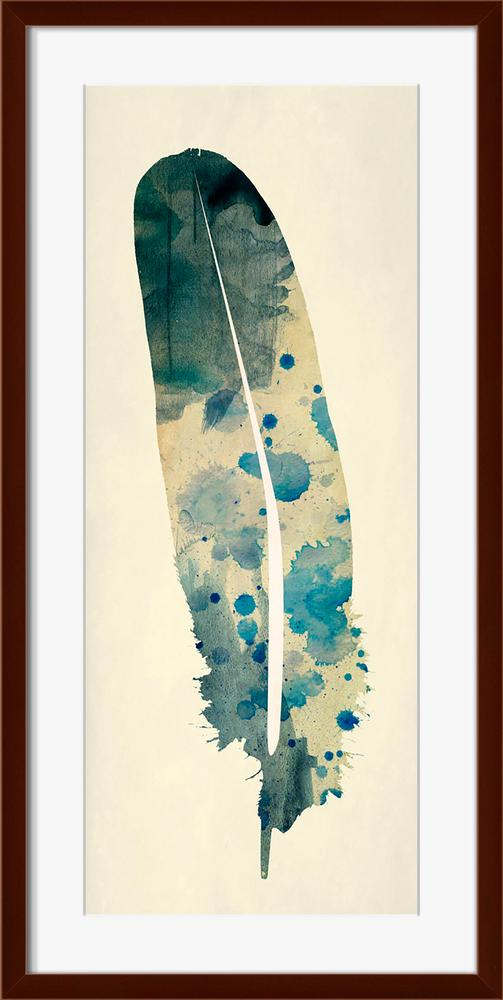 Spotted Feather - Wall Art-Wall Art-Surya-Wall2Wall Furnishings