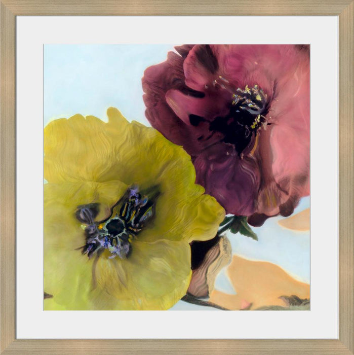 Popped Poppies - Wall Art 2-Wall Art-Surya-Wall2Wall Furnishings