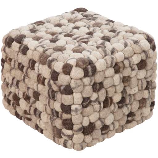 Surya Pouf 18-Pouf-Surya-Wall2Wall Furnishings