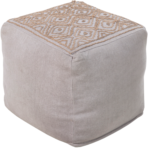 Surya Pouf 42-Pouf-Surya-Wall2Wall Furnishings