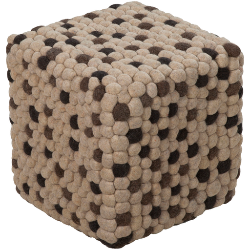 Surya Pouf 109-Pouf-Surya-Wall2Wall Furnishings