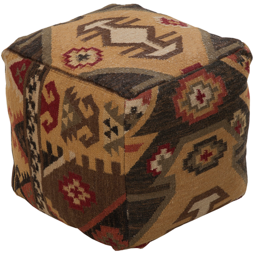 Surya Pouf 124-Pouf-Surya-Wall2Wall Furnishings