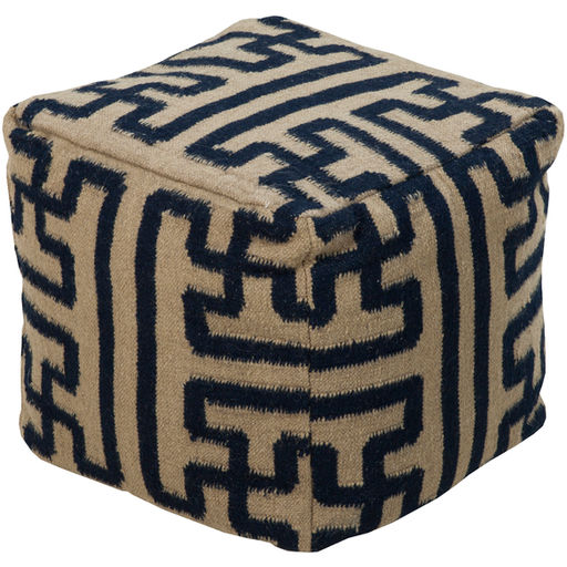 Surya Pouf 126-Pouf-Surya-Wall2Wall Furnishings