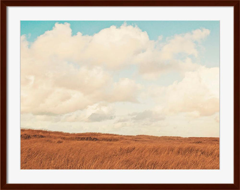 Clouds Over The Field - Wall Art-Wall Art-Surya-Wall2Wall Furnishings