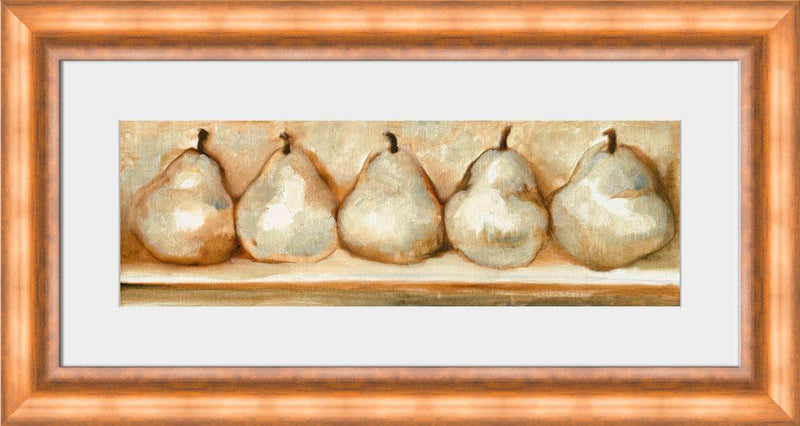 Standing Pears II - Wall Art-Wall Art-Surya-Wall2Wall Furnishings