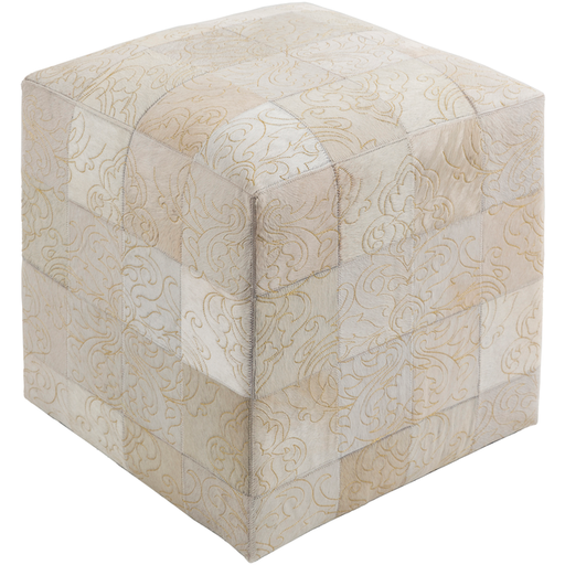 Sophisticate Pouf-Pouf-Surya-Wall2Wall Furnishings