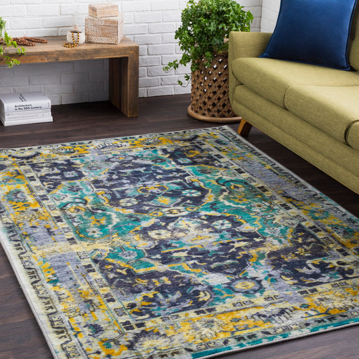 Silk Road Area Rug 3-Indoor Area Rug-Surya-Wall2Wall Furnishings