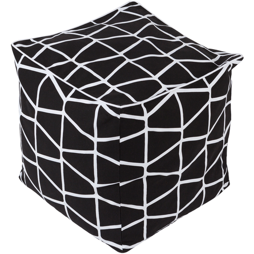 Somerset Pouf 9-Pouf-Surya-Wall2Wall Furnishings