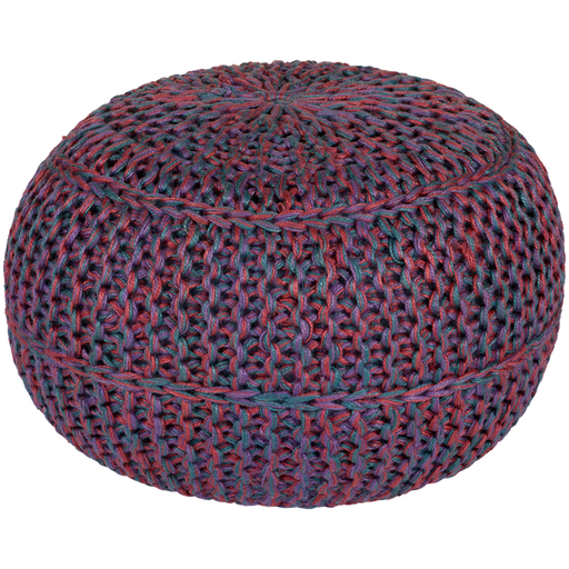 Wisteria Pouf 1-Pouf-Surya-Wall2Wall Furnishings