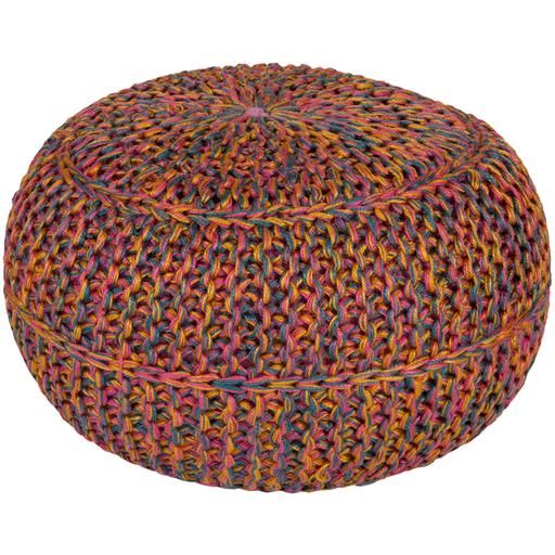 Wisteria Pouf 2-Pouf-Surya-Wall2Wall Furnishings