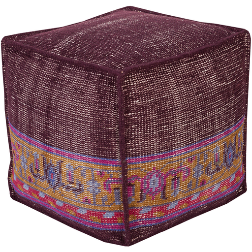 Zahara Pouf 1-Pouf-Surya-Wall2Wall Furnishings