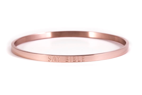 SAY BIBLE- Rose Gold