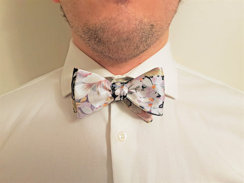 Floral Bow Tie | The Perfect Gentleman