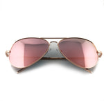 Rose gold aviators with rose gold tint and rose gold frame | The Perfect Gentleman