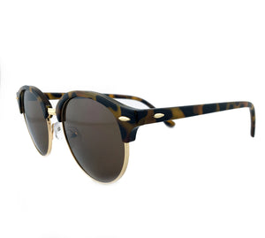 brown tinted sunglasses with cheetah frame | The Perfect Gentleman