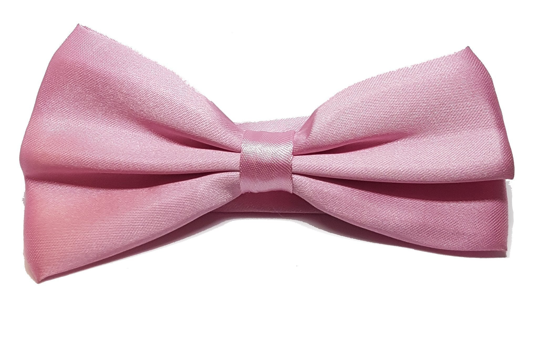 Light pink, shiny bow tie for gentlemen | The Perfect Gentleman