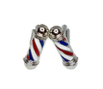 Barber's pole cufflinks | The Perfect Gentleman