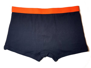 mens black underwear with orange bowties and orange band | The Perfect Gentleman