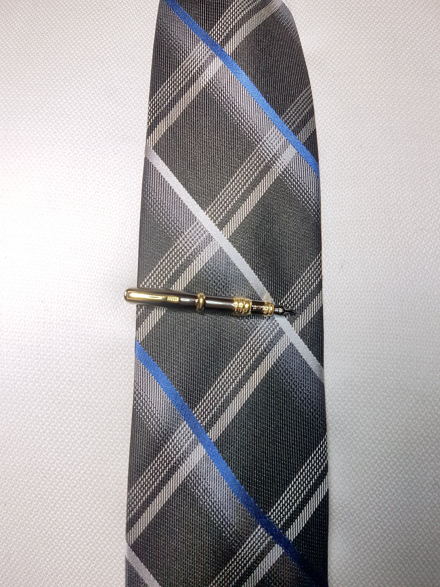 mens black and gold pen tie clip | The Perfect Gentleman
