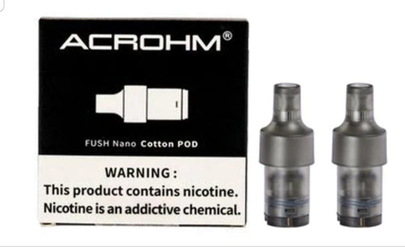 Achrom Fush Nano Replacement Pod X2Pcs