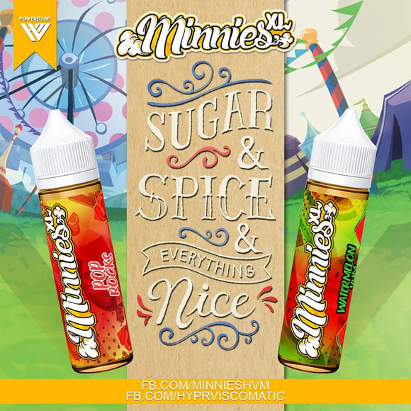 Minnies XL Icy Fruit Burst 60ml by Viscocity
