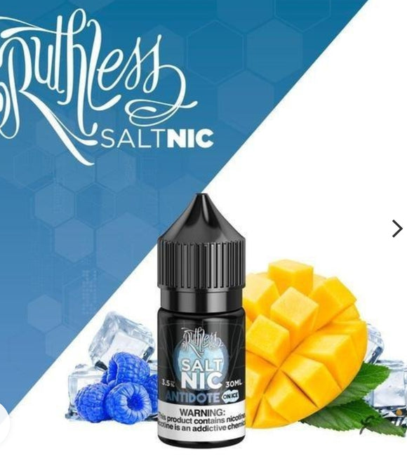 Ruthless Antidote on Ice 30ml Saltnic