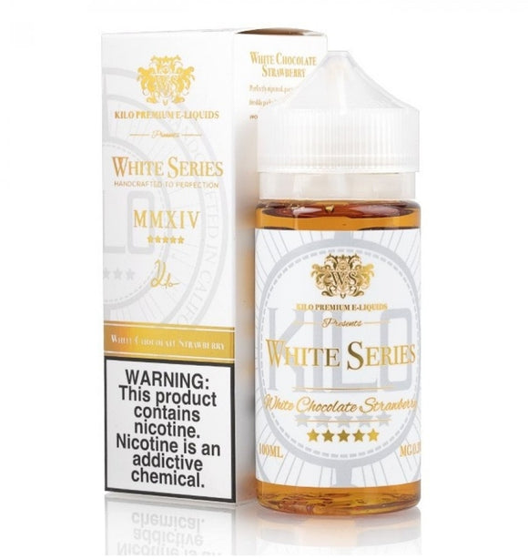 Kilo White Series White Chocolate Strawberry 100ml