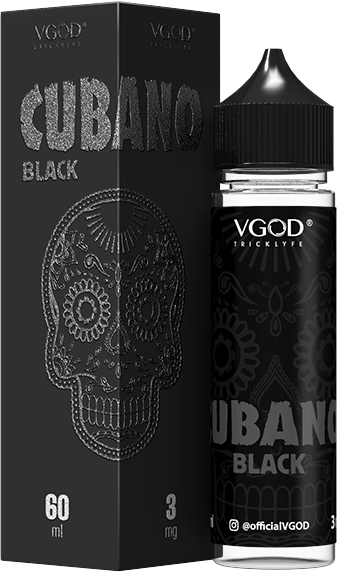 Cubano Black 60ml by Vgod