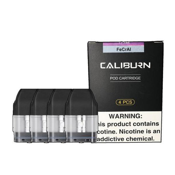 Uwell Caliburn Pods 1.4 Ohms Coils X4Pcs