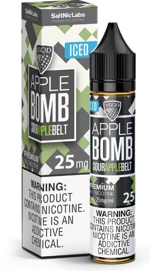 Iced Apple Bomb 30ml Saltnic