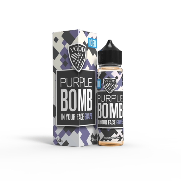 Iced Purple Bomb 60ml by Vgod
