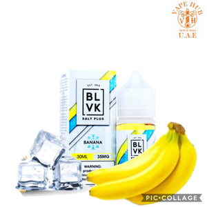 BLVK SALT PLUS BANANA ICE / AUH