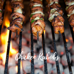Tu-Bees Sweet and Spicy Chicken Kabobs