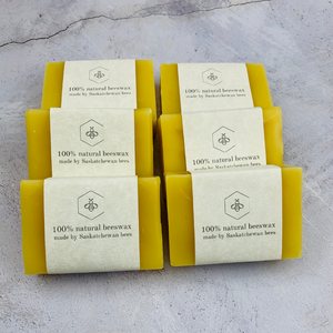 100% Pure and All Natural, Canadian Women Owned Beeswax Bar