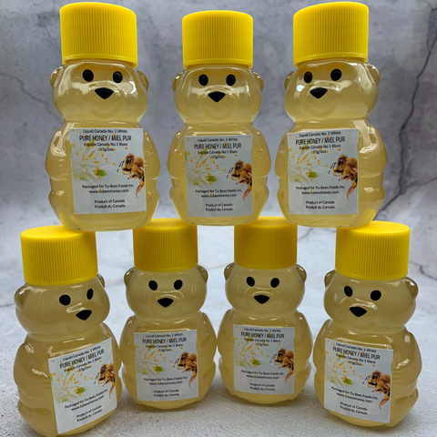 OU Kosher Certified, Canadian Woman Owned Honey Bears!
