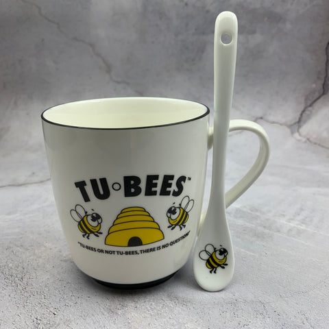 Tubees Honey Mug and Spoon Set. Canadian woman owned company!