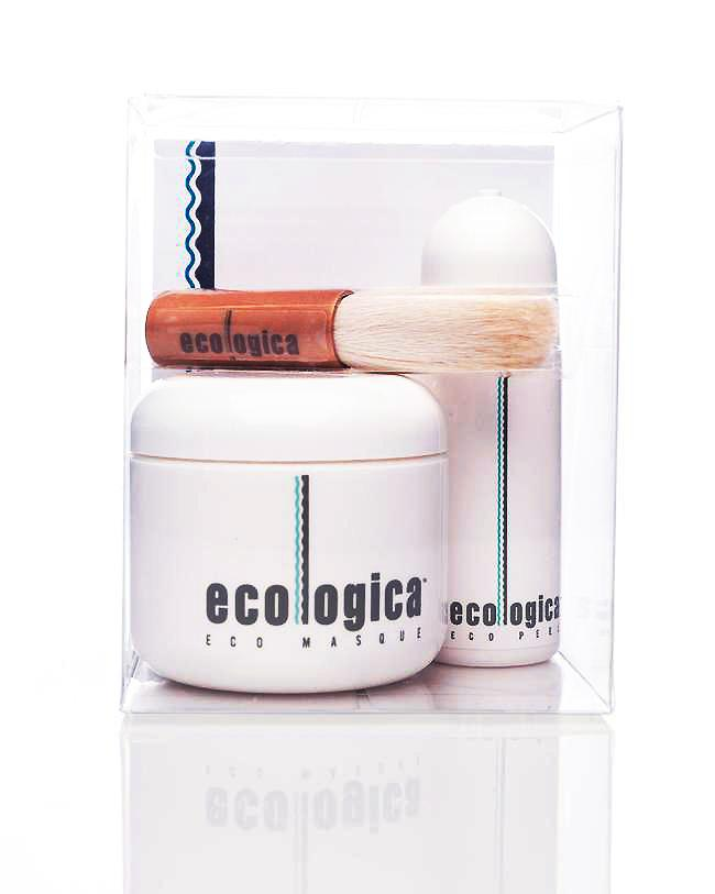 Eco Masque & Peel Gift Set by ecologica of Malibu