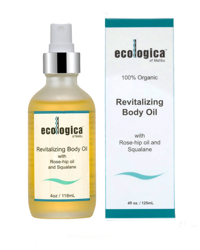 Revitalizing Body Oil by ecologica of Malibu