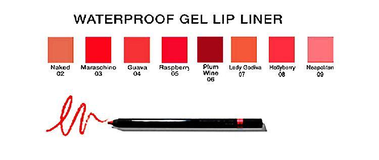 Waterproof Gel Lip Liner  Faces by Vicki of Malibu