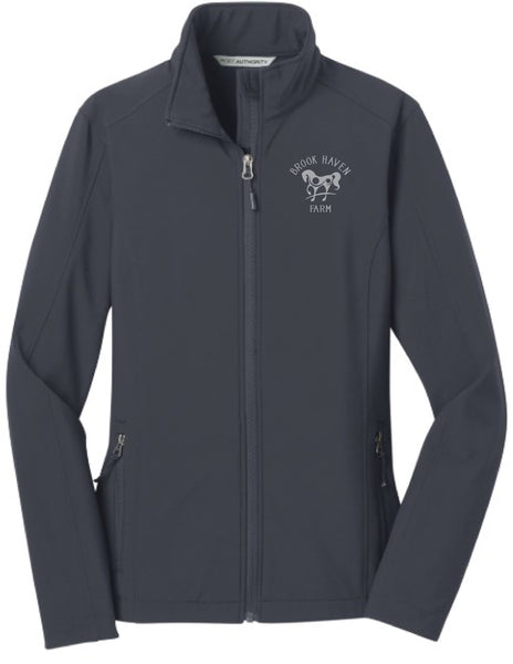 Brookhaven Farm Port Authority Ladies Soft Shell Jacket