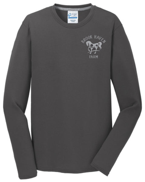 Brookhaven Farm Port and Company Youth and Adult Long Sleeve Shirts
