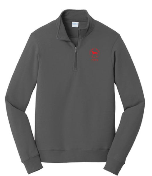 Tri-County Pony Club Port & Company Fan Favorite Fleece 1/4-Zip Pullover Sweatshirt